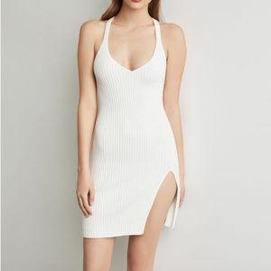 BCBG / White knit dress